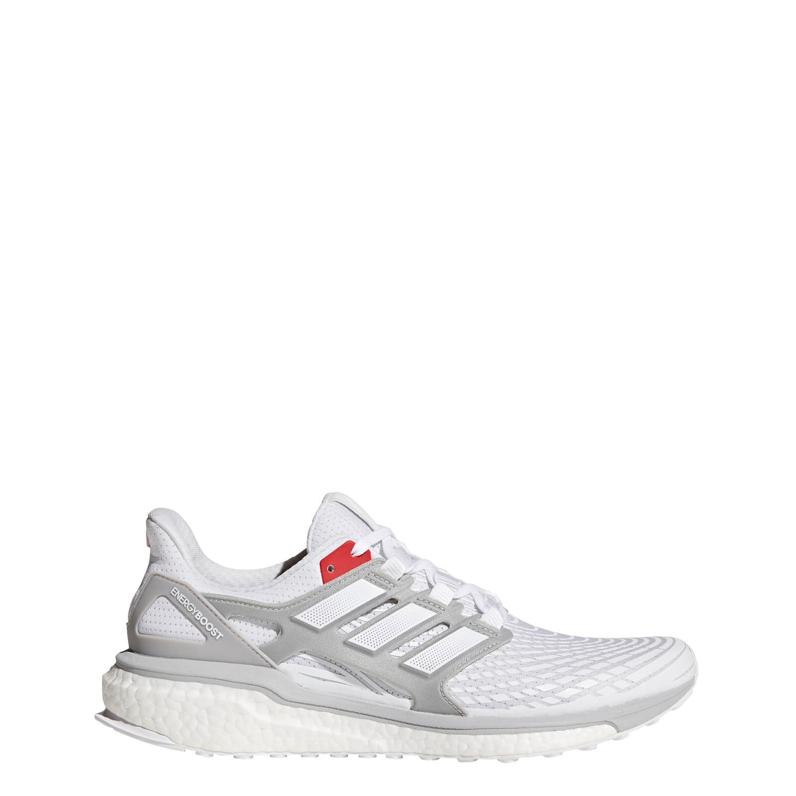 pas mal c0705 1a323 adidas Energy Boost Aktiv Running Shoes - White/Grey