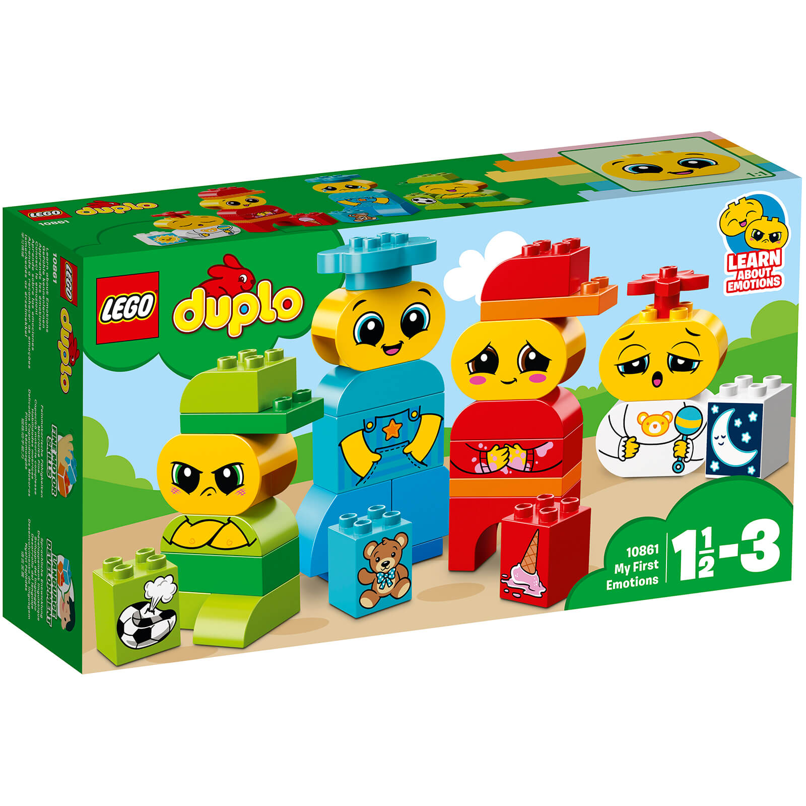 LEGO DUPLO: My First Emotions (10861)