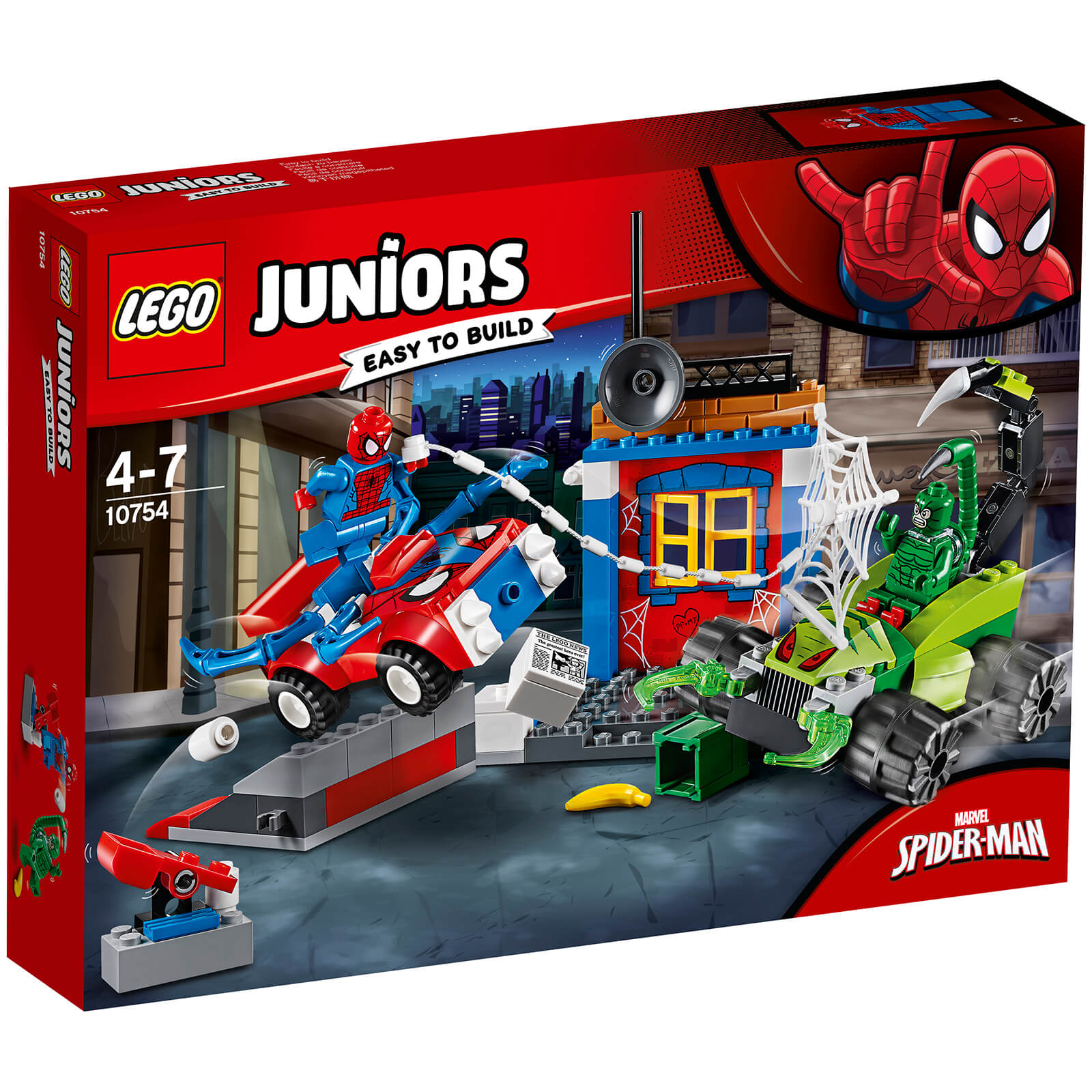 LEGO Juniors: Spider-Man vs. Scorpion Street Showdown (10754)