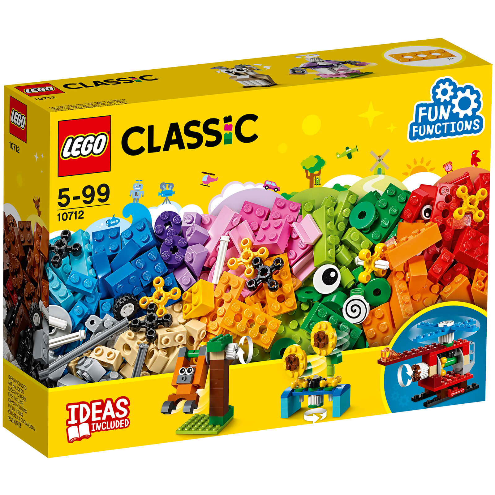 LEGO Classic: Bricks and Gears (10712)