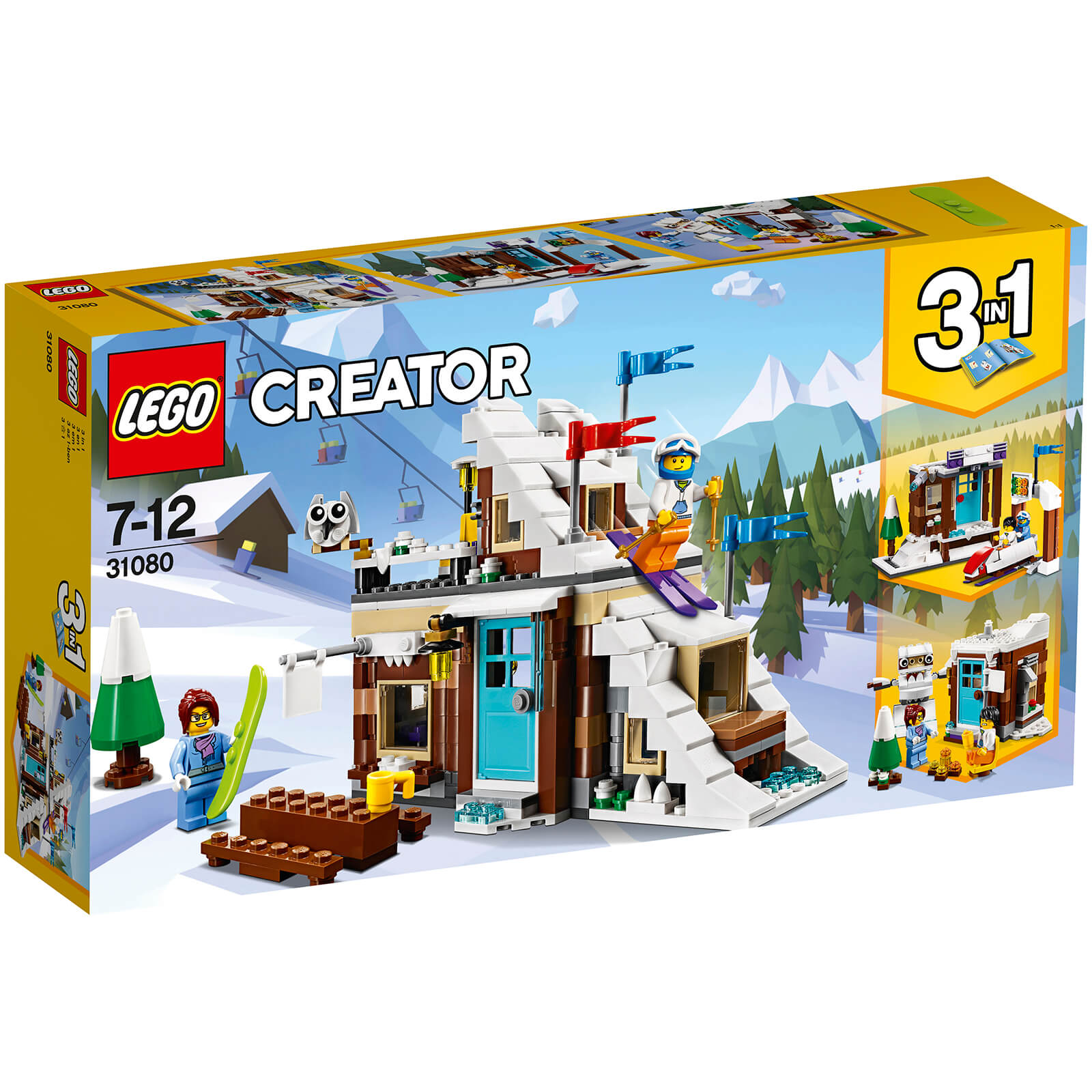 LEGO Creator: Modular Winter Vacation (31080)
