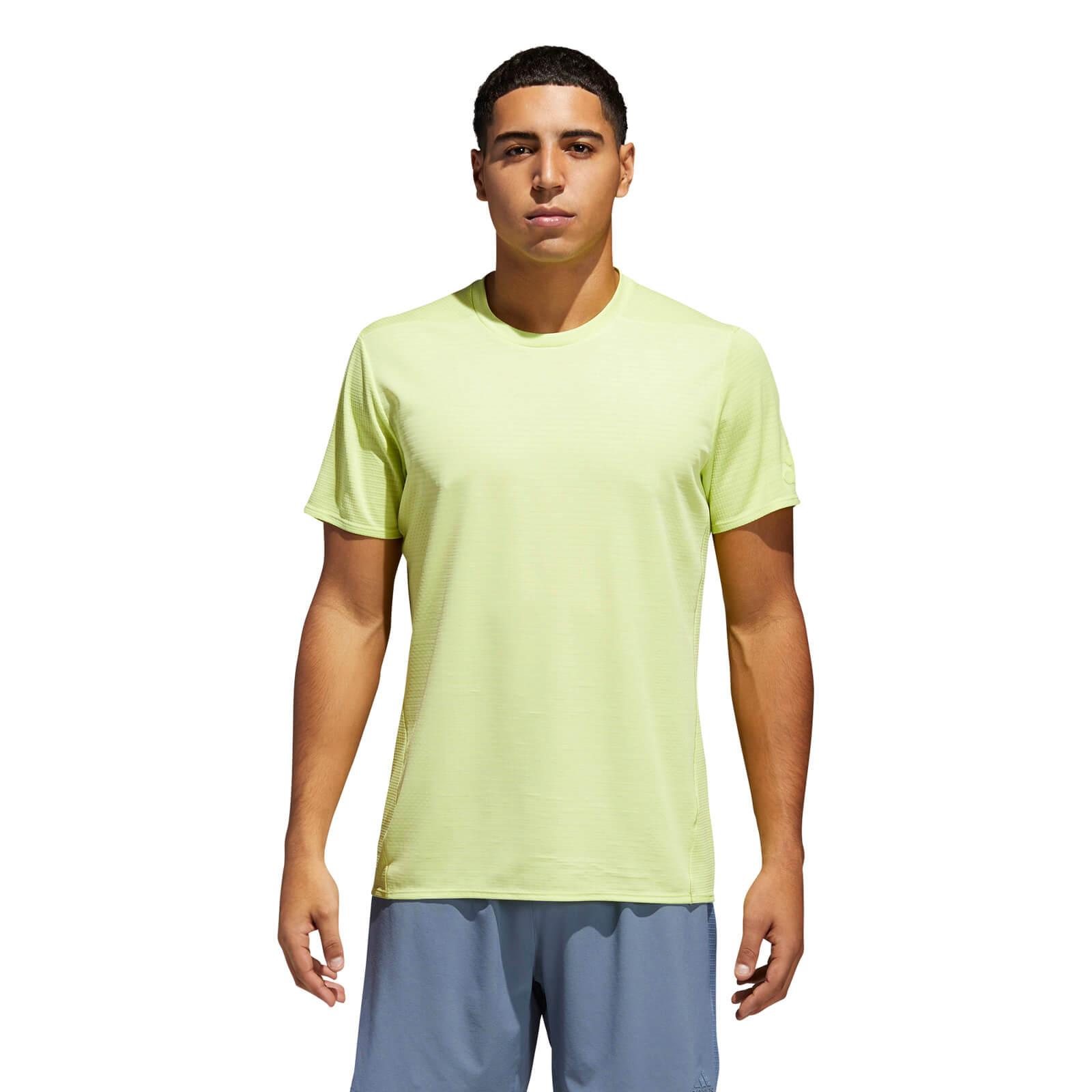 buy popular 7dbc8 b9a87 adidas Men s Supernova 37C Running T-Shirt - Yellow Sports   Leisure    TheHut.com