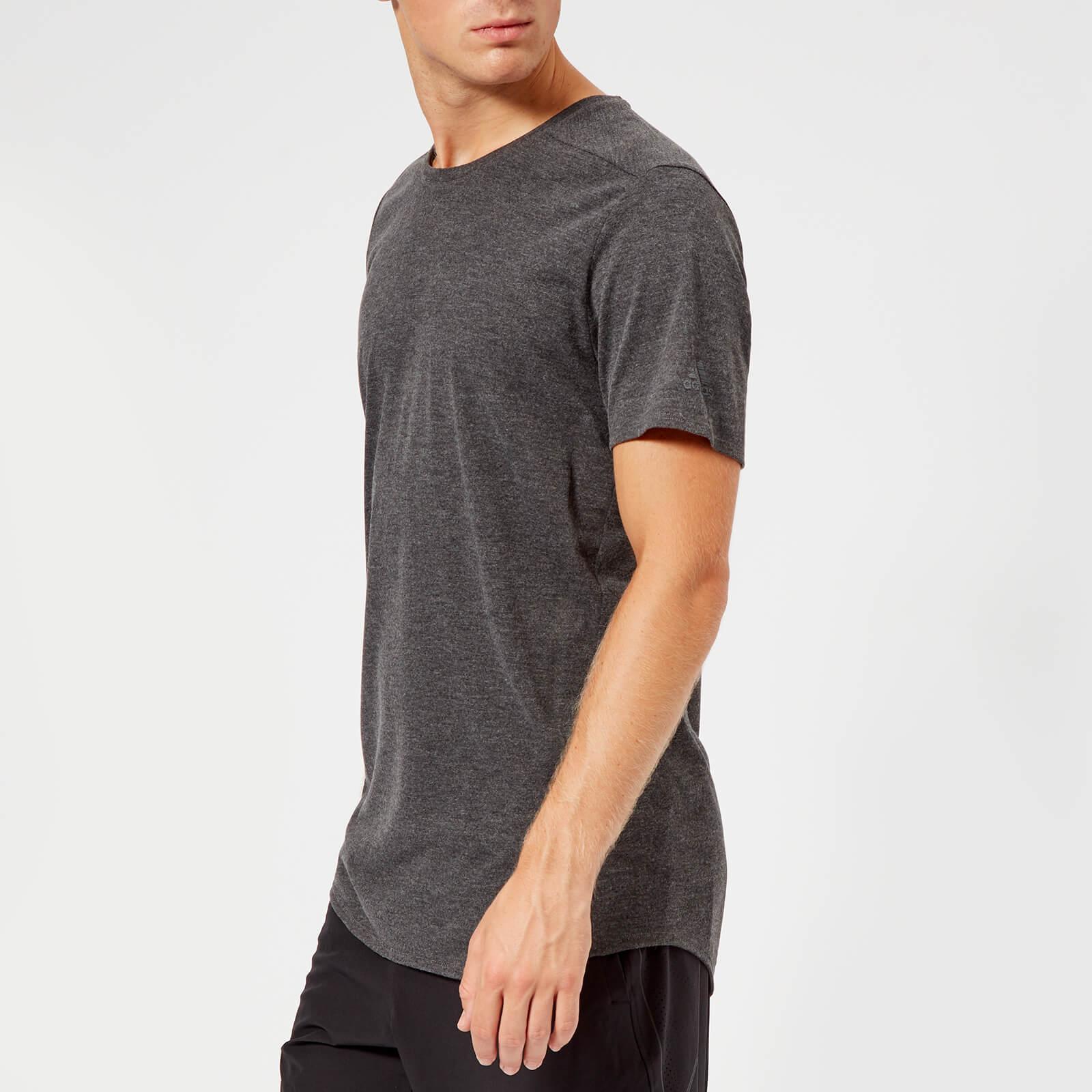 514fc54bdc13 adidas Men s Supernova Pure Running T-Shirt - Grey Sports   Leisure ...