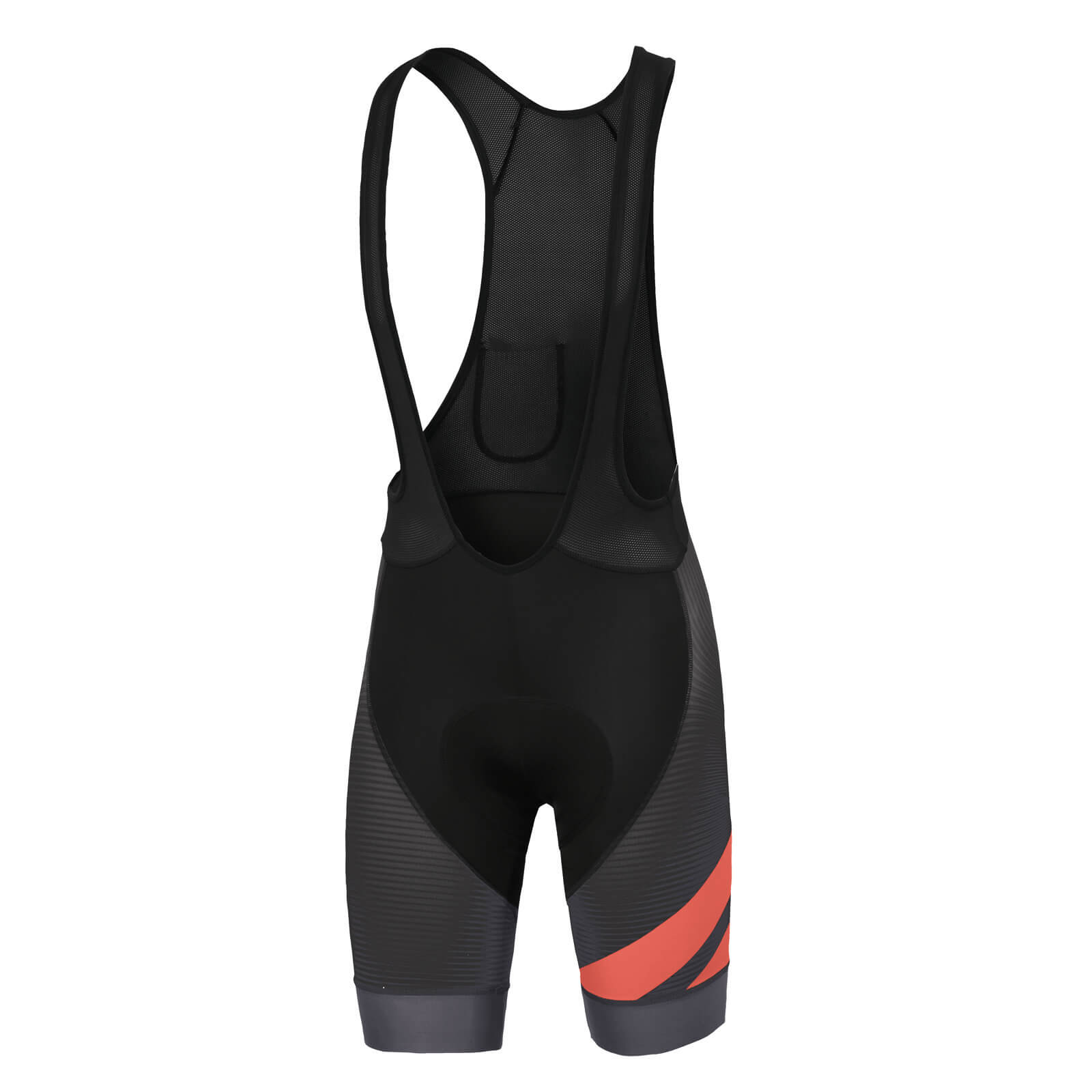 Sportful BodyFit Team Bib Shorts - Black/Coral Fluo