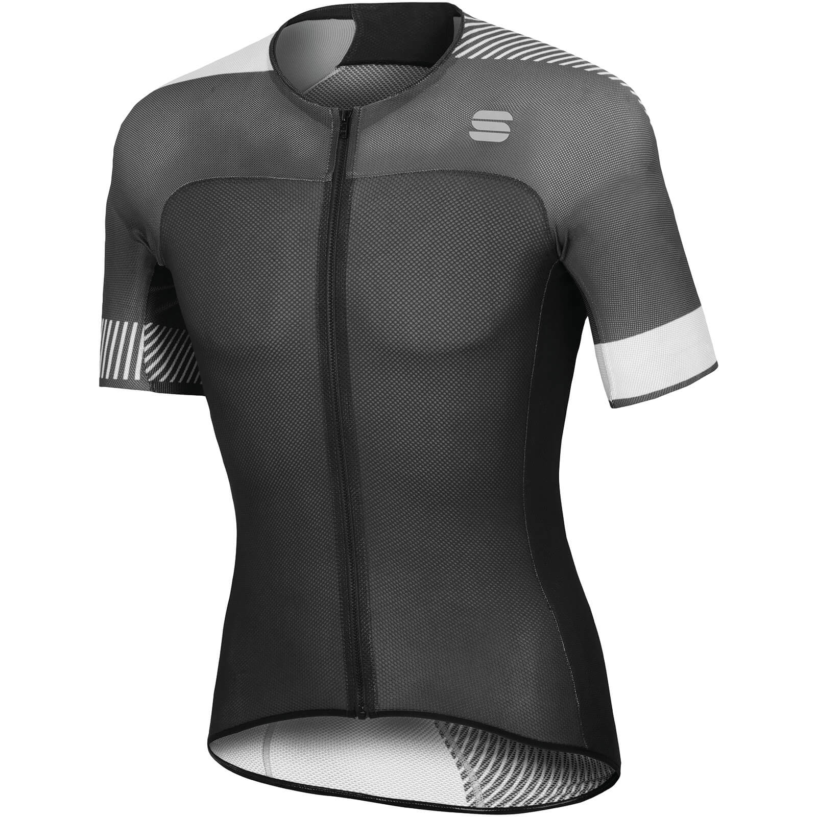 Sportful BodyFit Pro Light Jersey - Black/White
