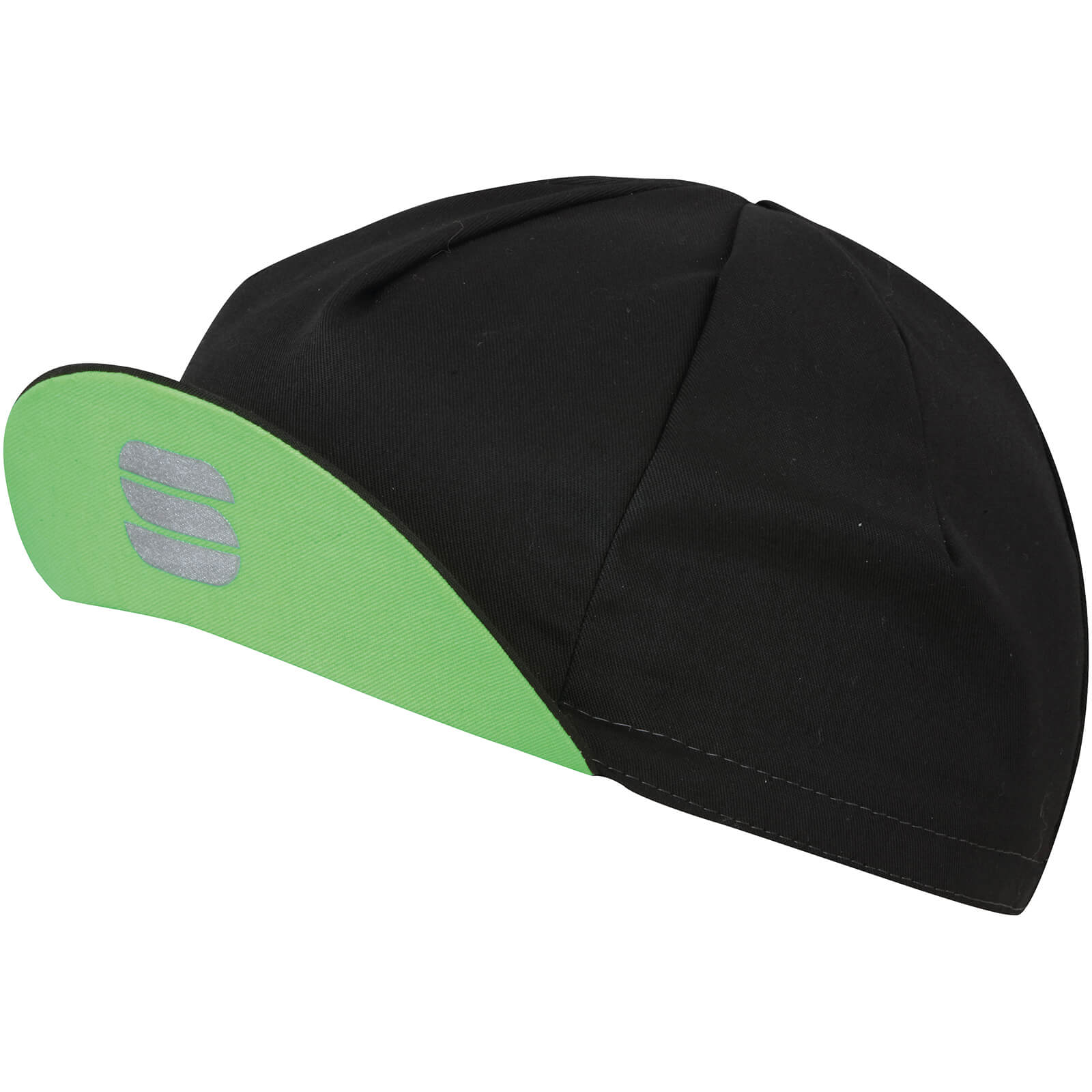Sportful Infinite Cap - Black/Green Fluo