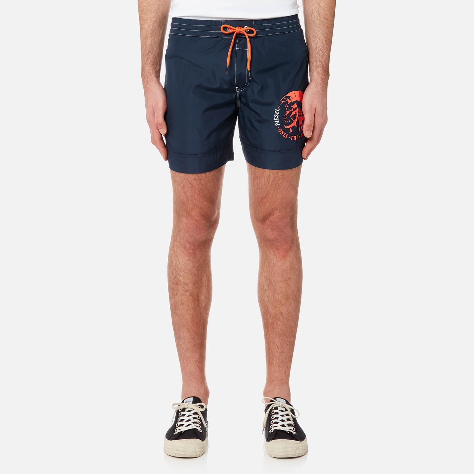 5198ee3951 Diesel Men's Wave Basic Swim Shorts - Navy Mens Underwear   TheHut.com