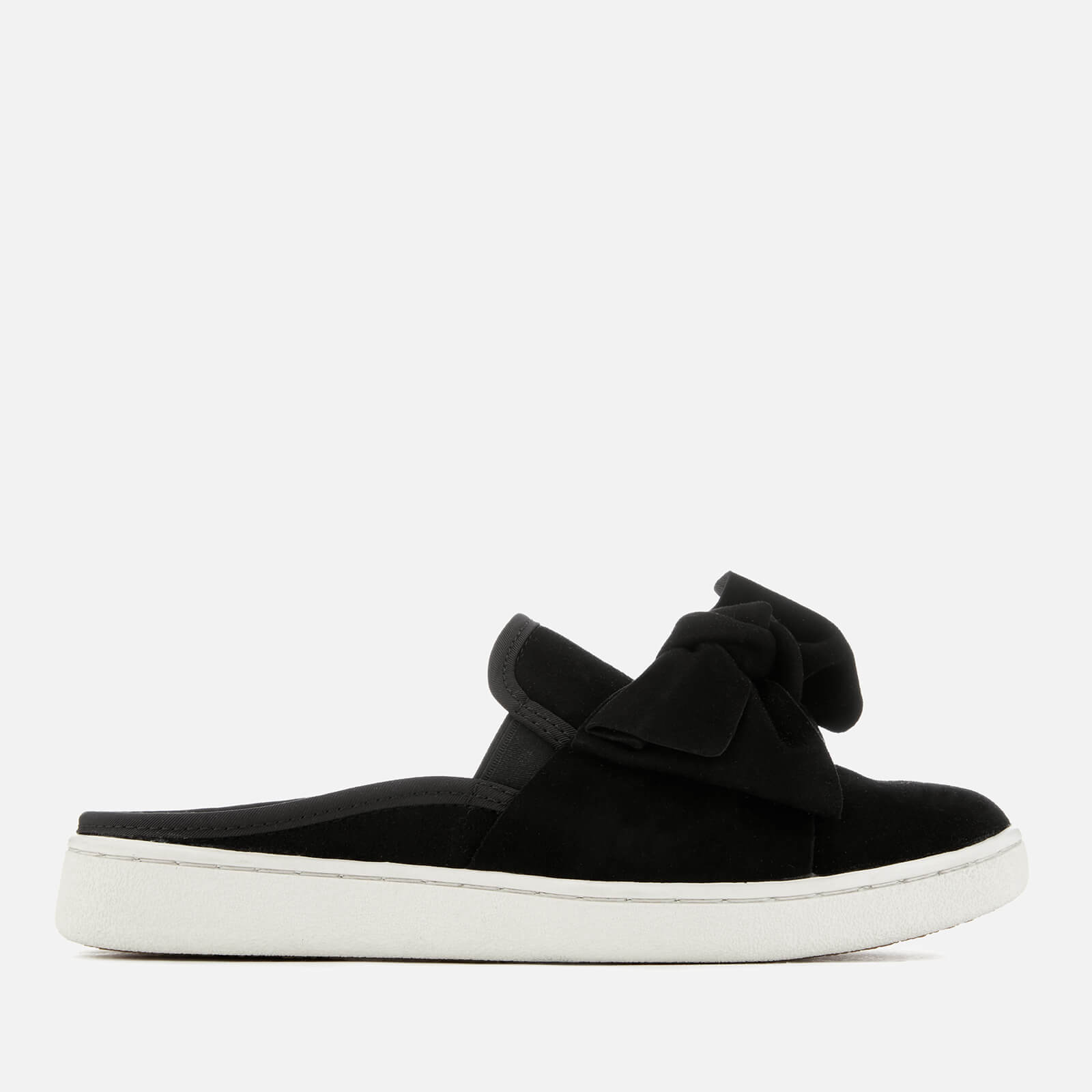 48805676c17 UGG Women's Luci Bow Suede Slip On Trainers - Black