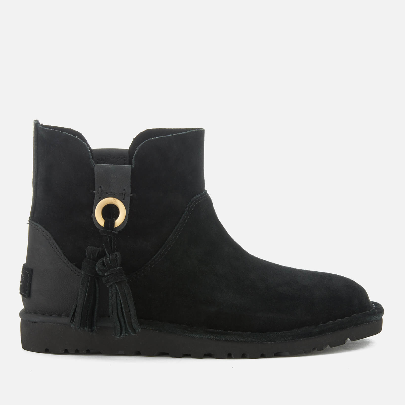 UGG Women's Gib Suede Unlined Ankle Boots Black