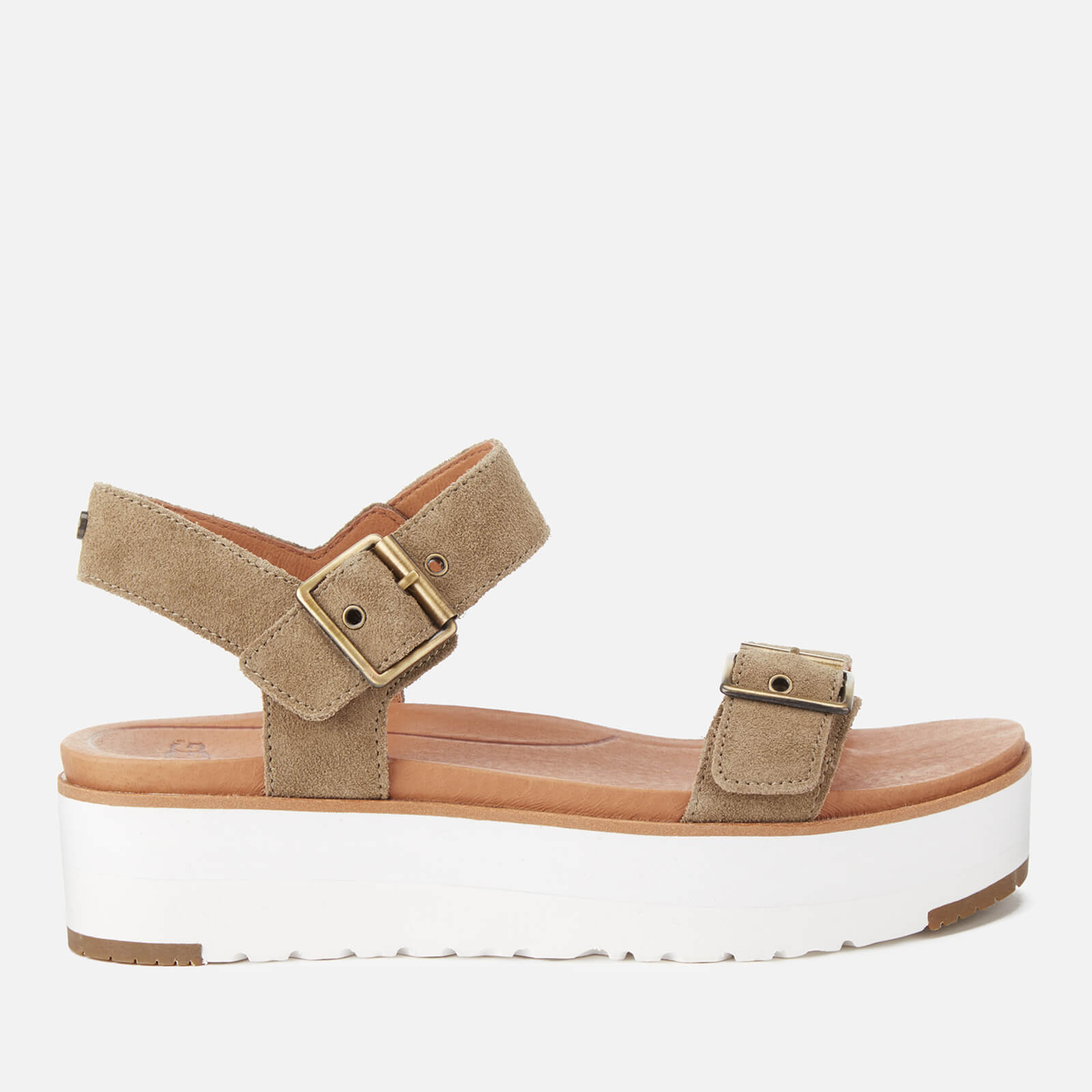 fa115e74414 UGG Women's Angie Double Strap Flatform Sandals - Antelope
