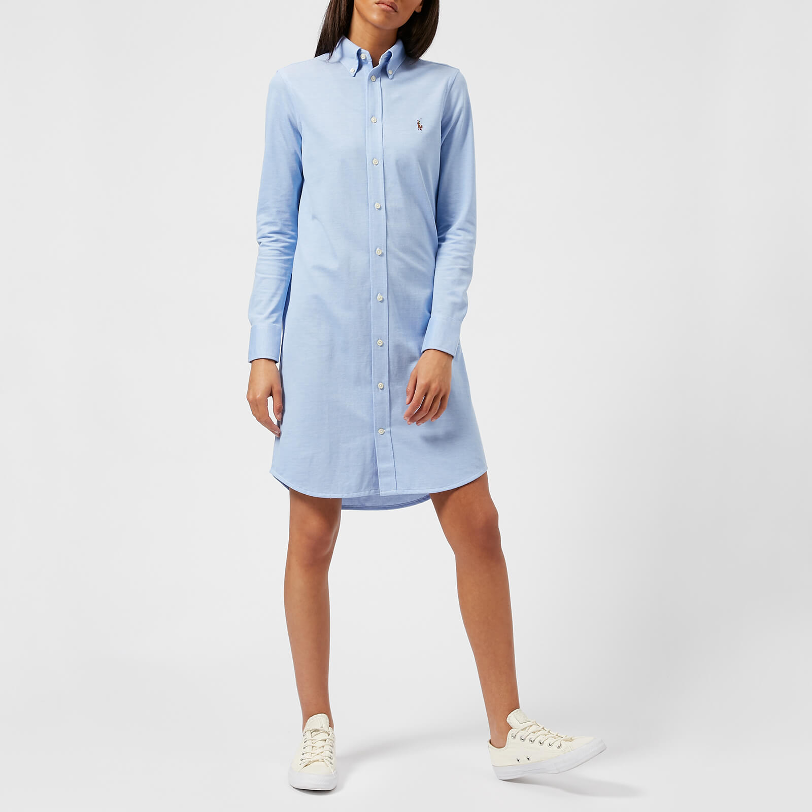 ac9e6d0b205 Polo Ralph Lauren Women s Oxford Shirt Dress - Blue - Free UK Delivery over  £50