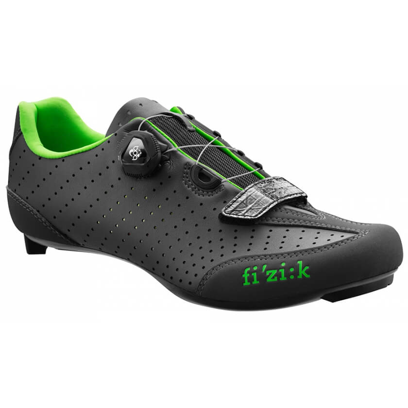 Fizik R3B Road Shoes - Black/Green