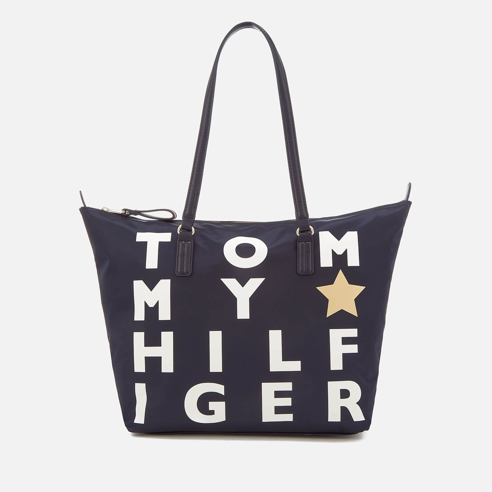 6ba593dc1 Tommy Hilfiger Women's Poppy Logo Tote Bag - Navy Womens Accessories    TheHut.com