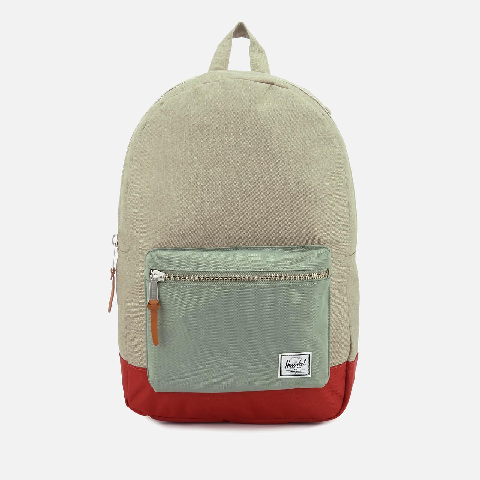 7bfc5bccc60 Men s Settlement Backpack - Light Khaki Crosshatch Shadow Brick Red