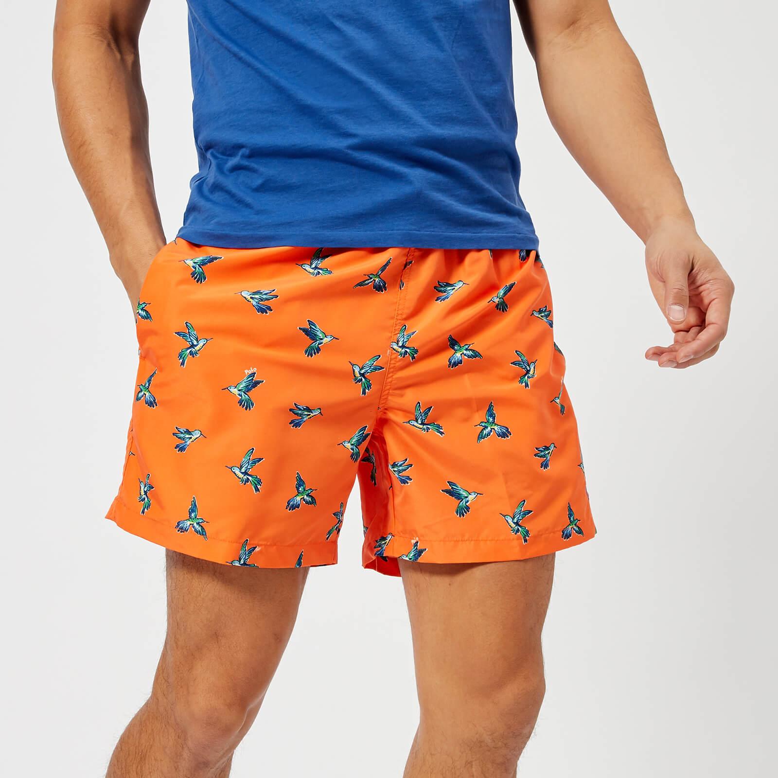 86feb044d37bd Polo Ralph Lauren Men's Traveller Swim Shorts - Hummingbird - Free UK  Delivery over £50