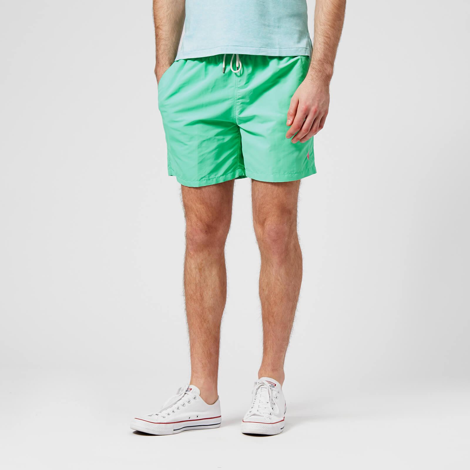 0f24b57e62 Polo Ralph Lauren Men's Traveler Swim Shorts - Hawaiian Green - Free UK  Delivery over £50