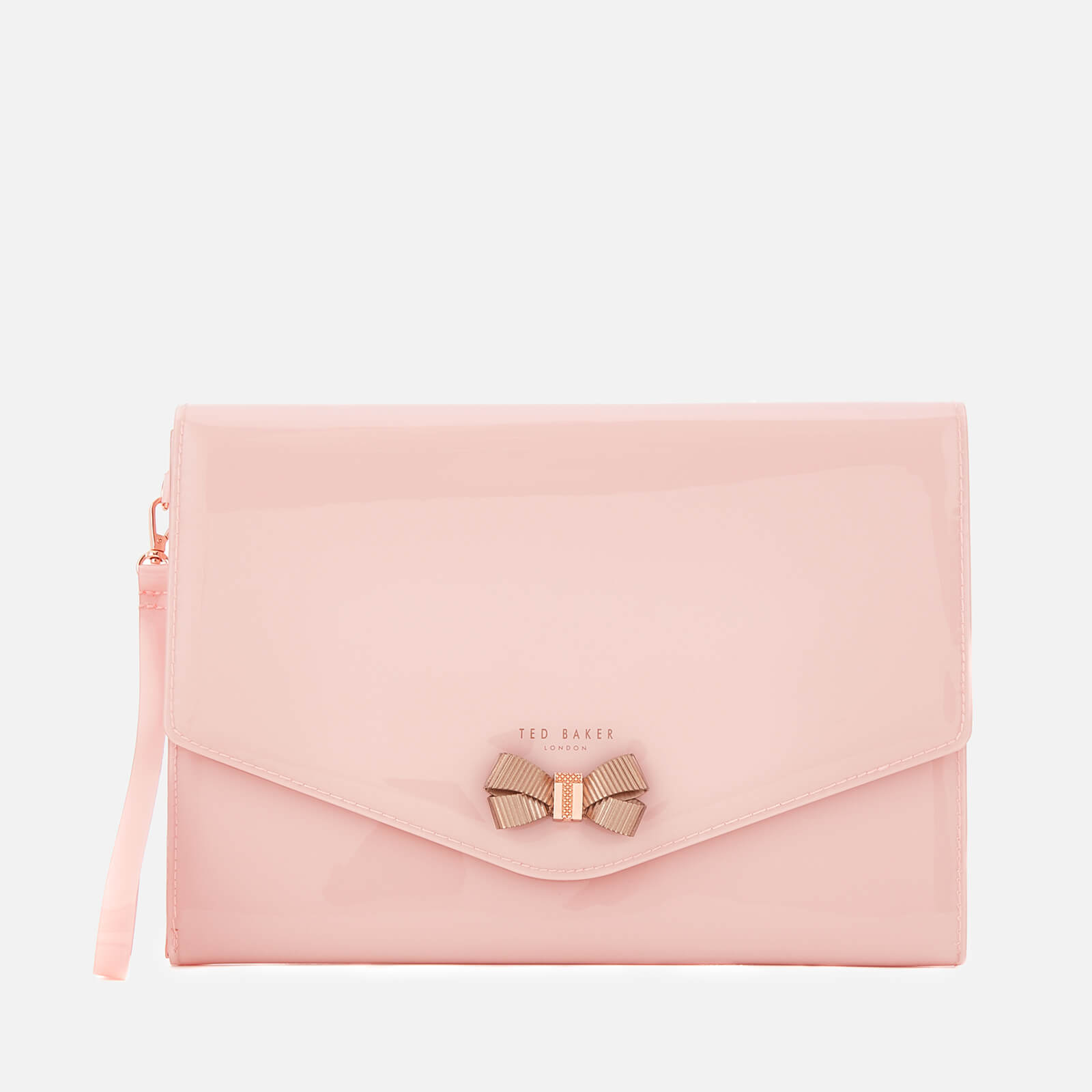 c244da5b2fa Ted Baker Women s Luanne Bow Envelope Pouch - Pale Pink Clothing ...