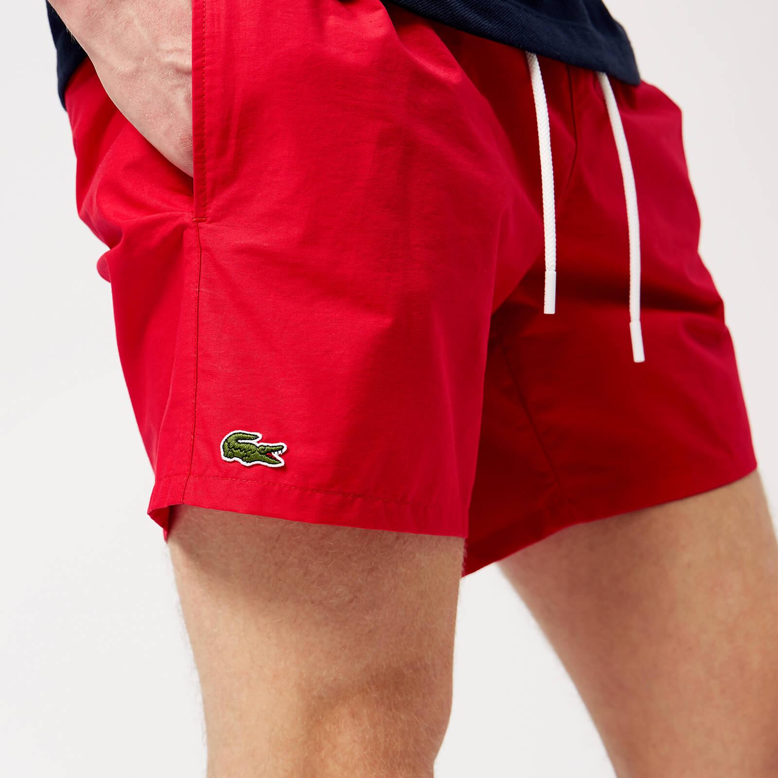 49453f54 Lacoste Men's Basic Swim Shorts - Toreador