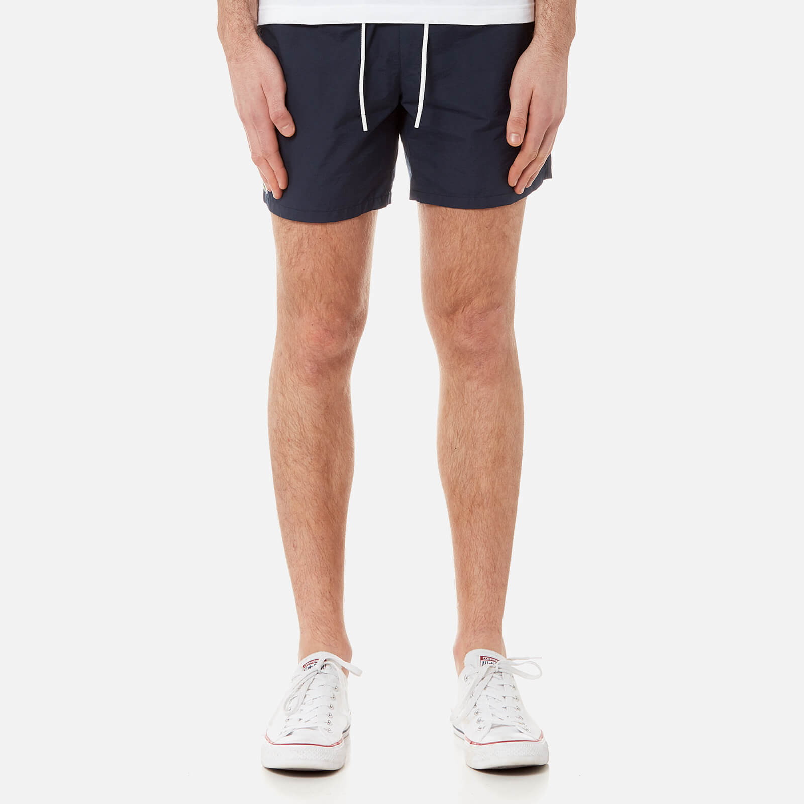 a9d94763e Lacoste Men s Basic Swim Shorts - Navy Blue - Free UK Delivery over £50