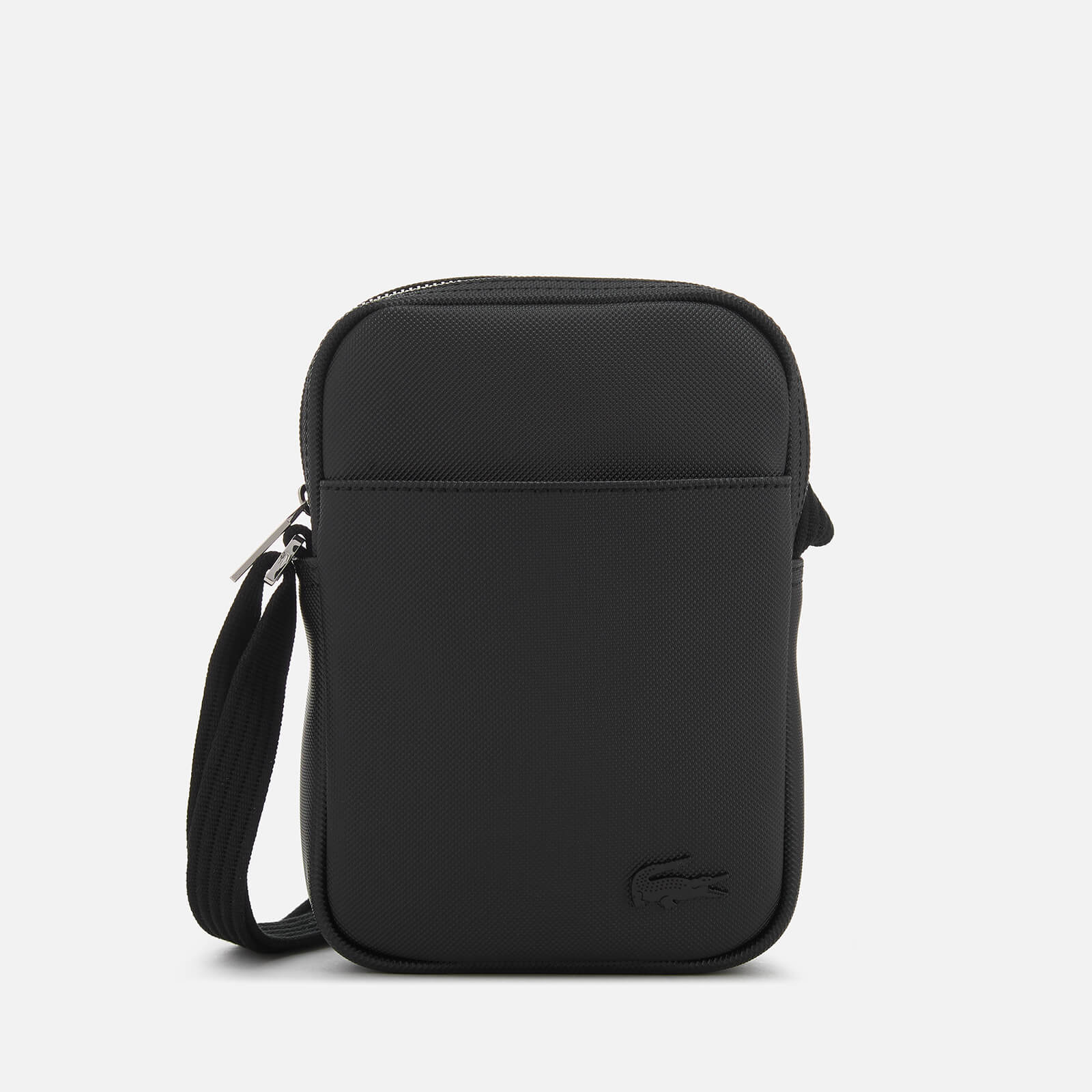 c06f5363bf4 Lacoste Men's Slim Vertical Camera Bag - Black - Free UK Delivery over £50