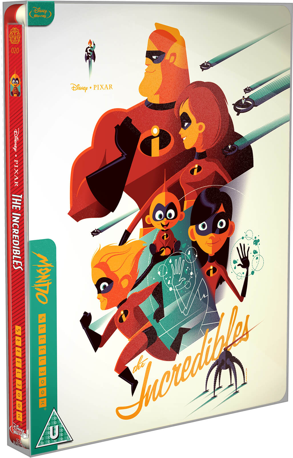 The Incredibles – Mondo #20 Zavvi World Exclusive Limited Edition Steelbook