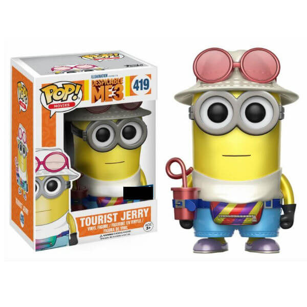 Despicable Me 3 Tourist Jerry EXC Pop! Vinyl Figure
