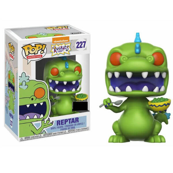 Rugrats Reptar with Cereal Box EXC Pop! Vinyl Figure