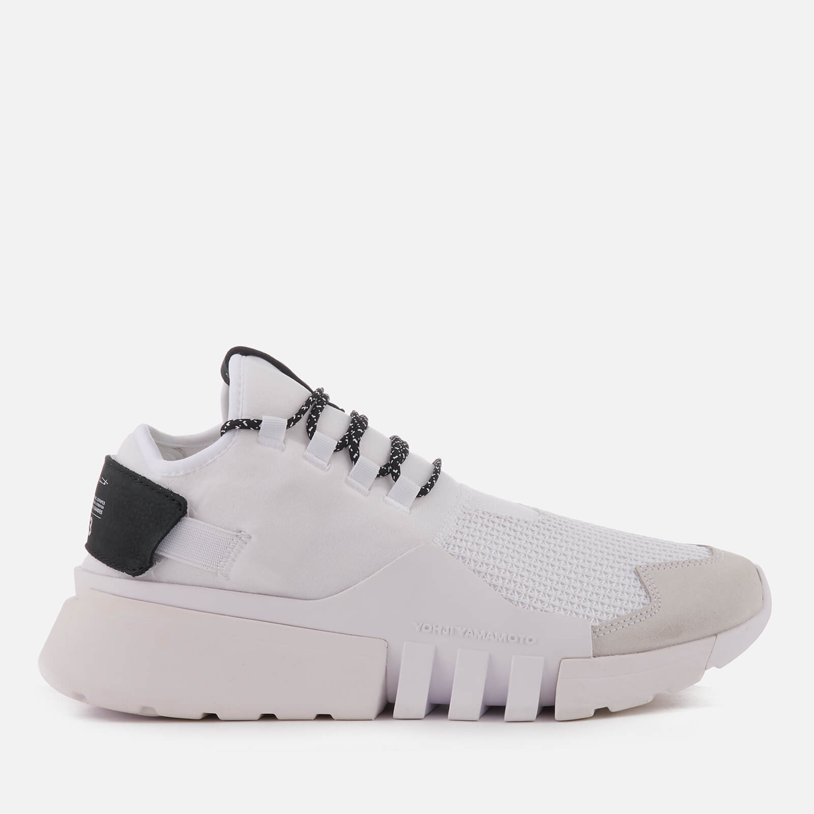 066296ef5 Y-3 Men s Ayero Trainers - White White White - Free UK Delivery over £50