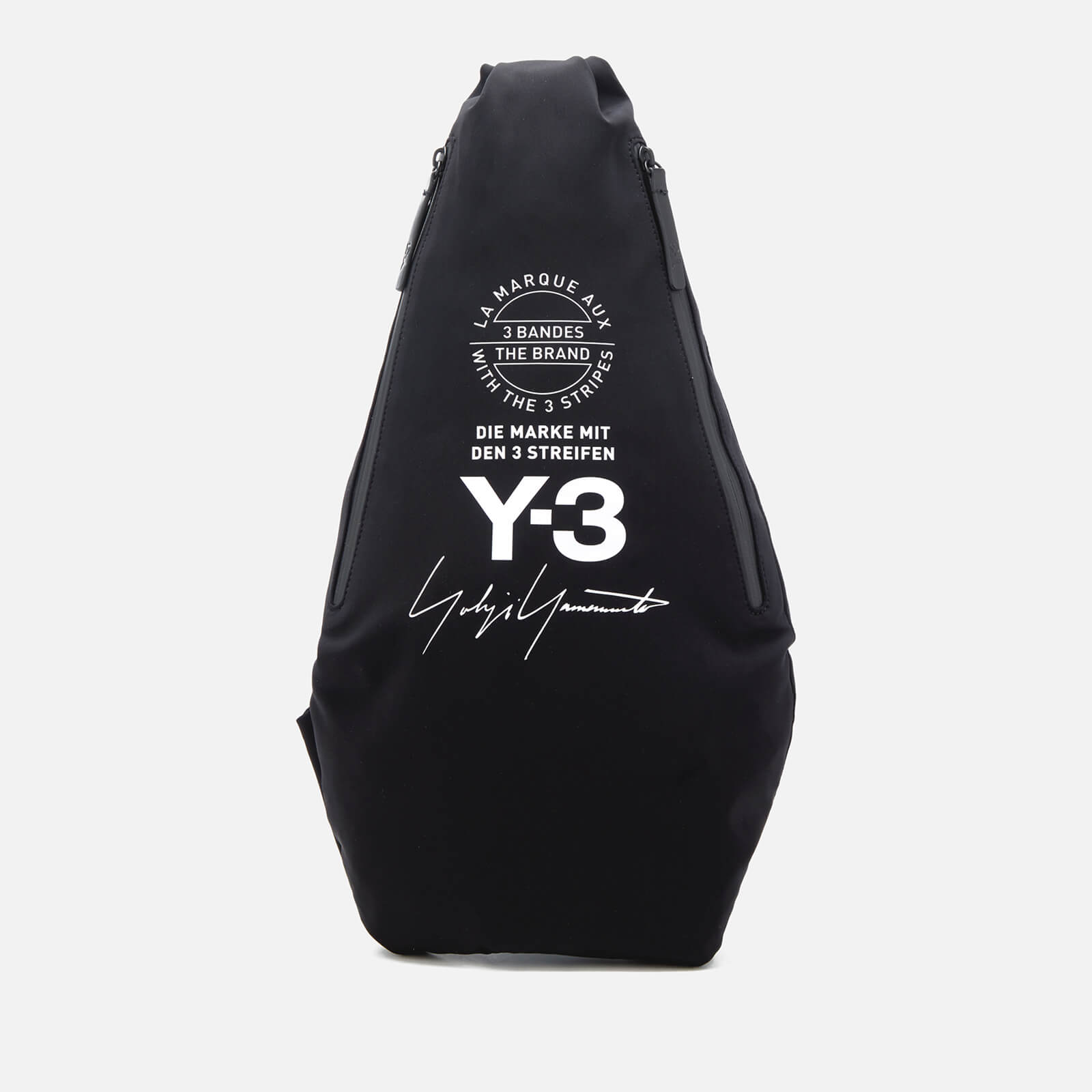 805d8dd18 Y-3 Yohji Messenger Bag - Black - Free UK Delivery over £50