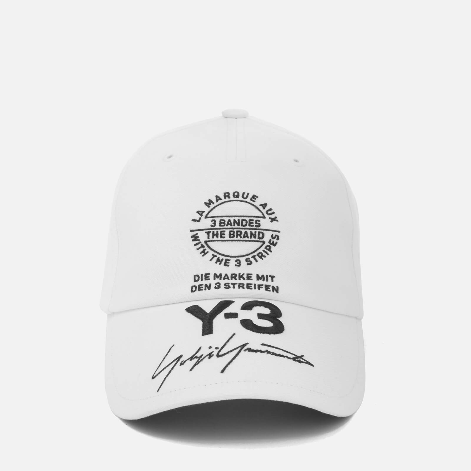 cd97a3e717d52b Y-3 Street Cap - White - Free UK Delivery over £50