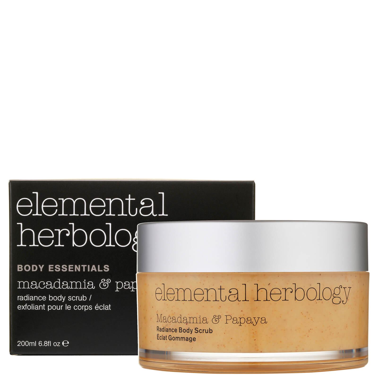 Elemental Herbology Macadamia And Papaya Body Scrub 200ml Beautyexpert Marina Product Description