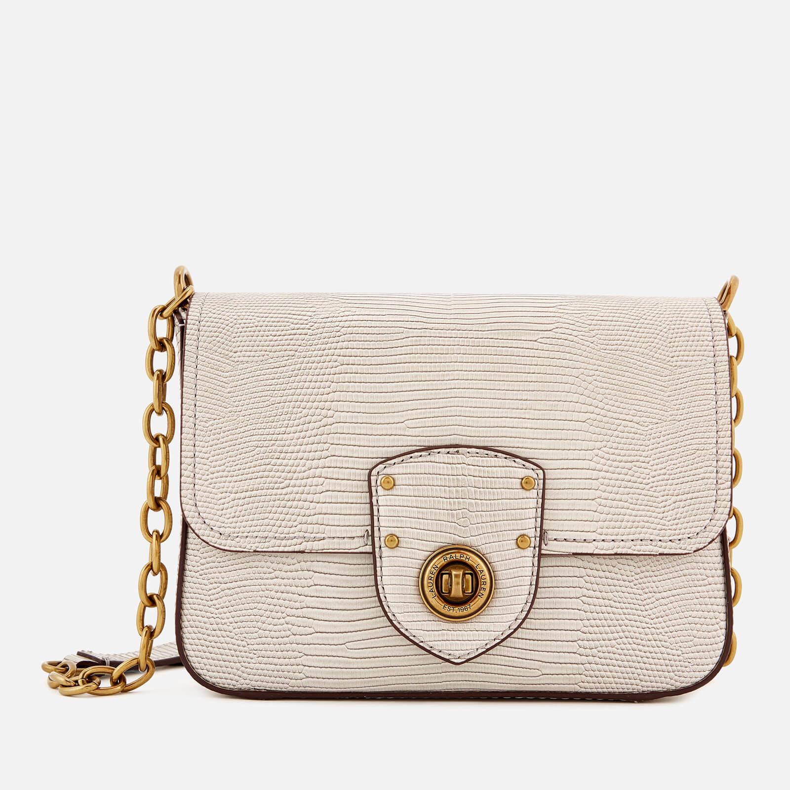 new season agreatvarietyofmodels unbeatable price Lauren Ralph Lauren Women's Millbrook Chain Cross Body Bag - Grey