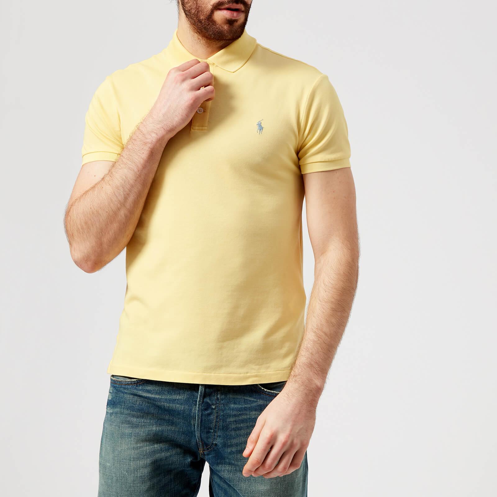 23b7314a Polo Ralph Lauren Men's Stretch Mesh Polo Shirt - Banana Peel