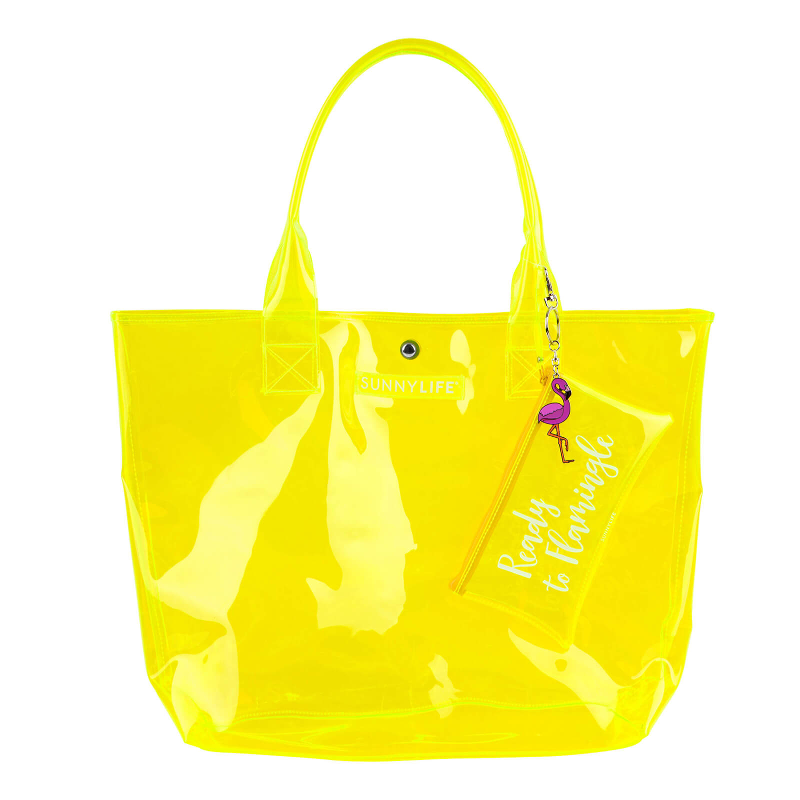 Sunnylife Market Bag - Neon Yellow
