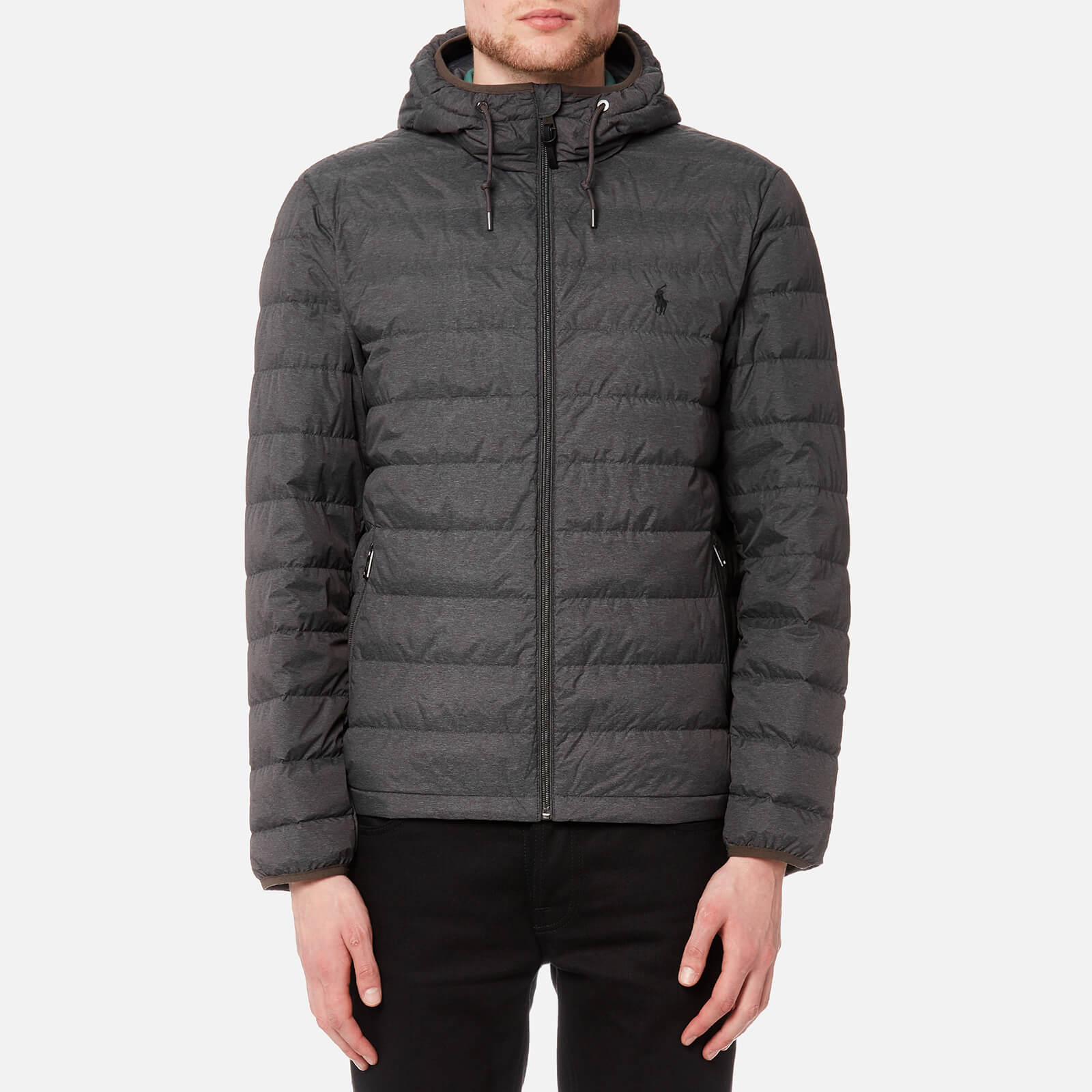24b0f084db7e Polo Ralph Lauren Men s Packable Down Fill Jacket - Windsor Heather - Free  UK Delivery over £50