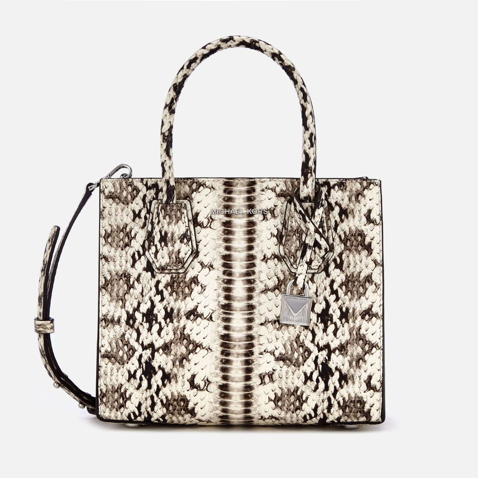 884d00b76573 MICHAEL MICHAEL KORS Women s Mercer Medium Tote Bag - Natural - Free UK  Delivery over £50