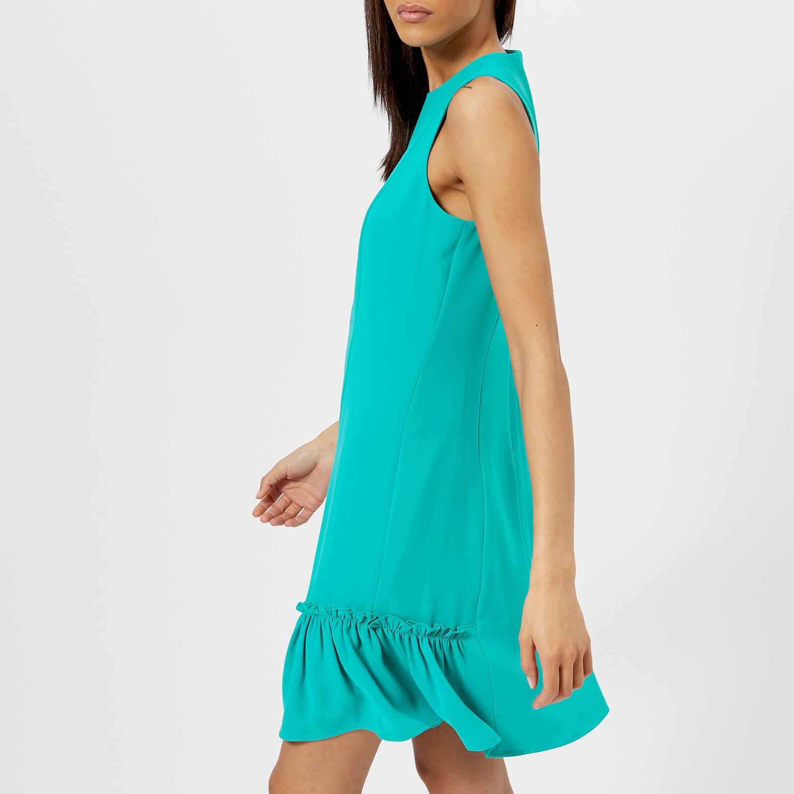 3f478ffe4c13 MICHAEL MICHAEL KORS Women s Sleeveless Ruffle Dress - Tile Blue ...