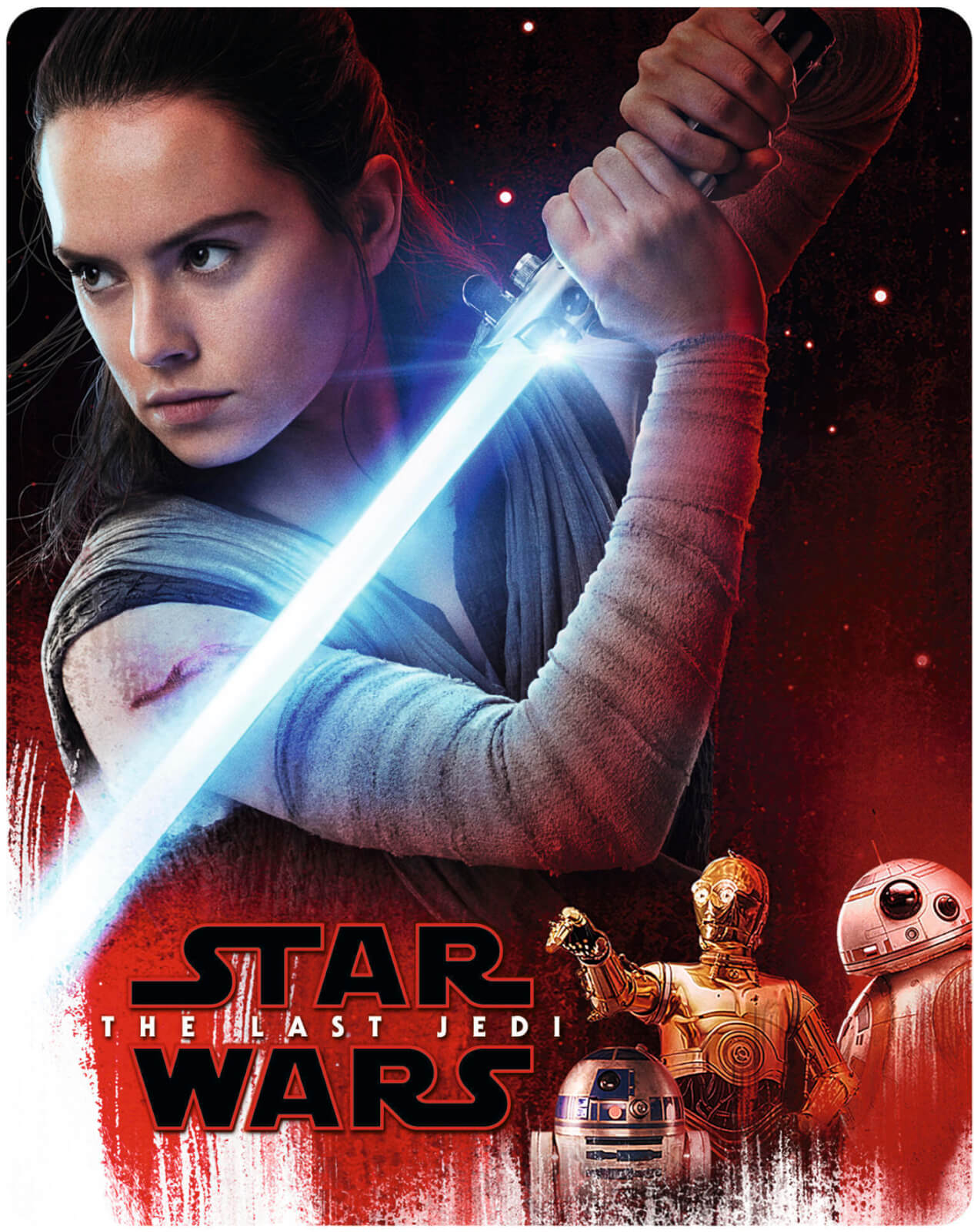 vavvi.com|pimpandhost.com 4 Star Wars: The Last Jedi 3D (Includes 2D Version) - Zavvi Exclusive Limited