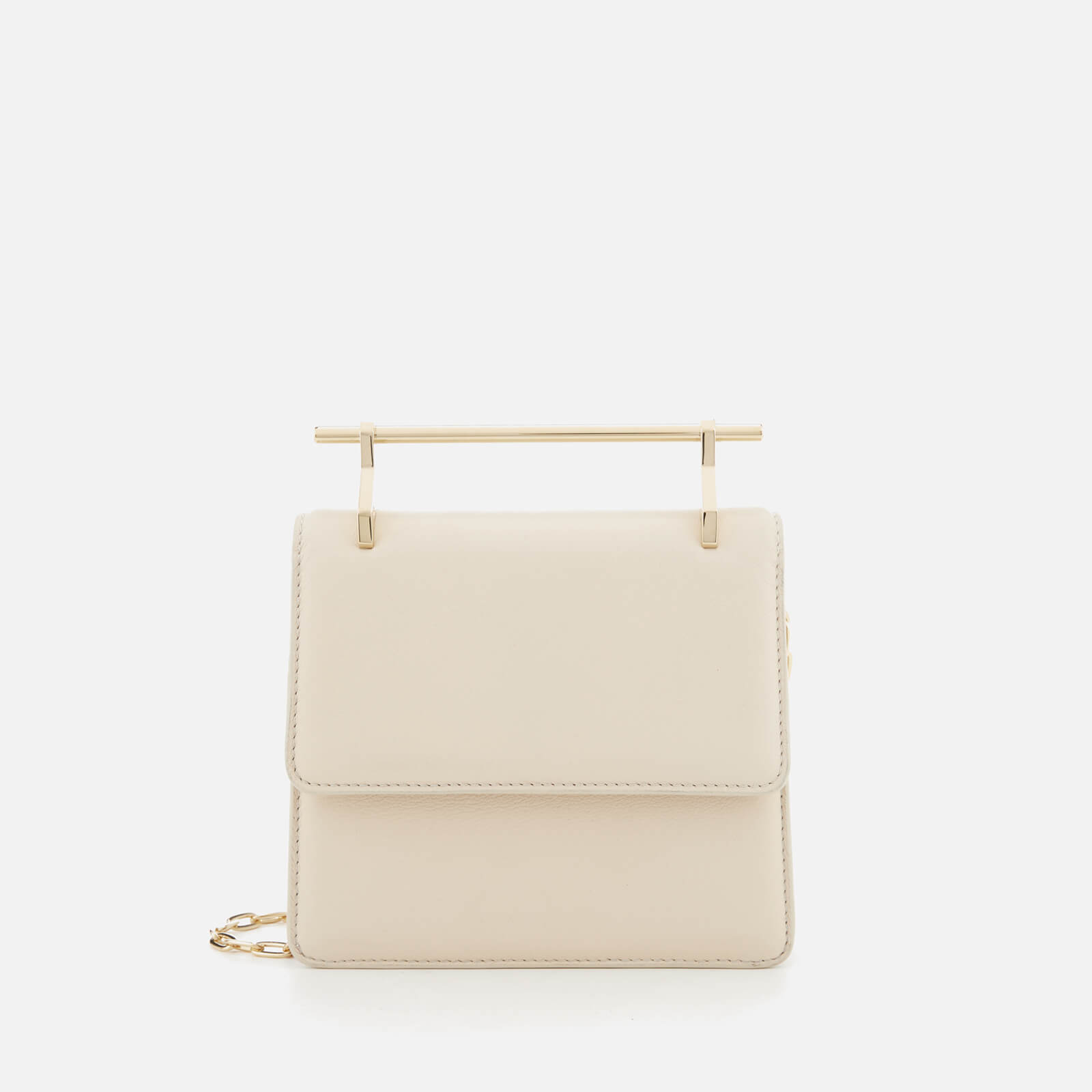 90844801f3f8 M2Malletier Women s Mini Collectionneuse Single Hardware Bag - Ivory Single  Gold Chain - Free UK Delivery over £50