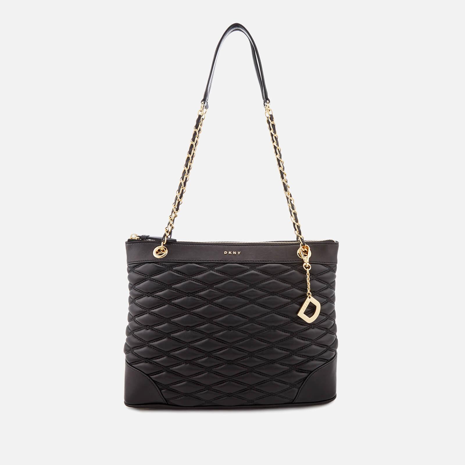 a5d742992 DKNY Women's Lara Medium Tote Bag - Black - Free UK Delivery over £50