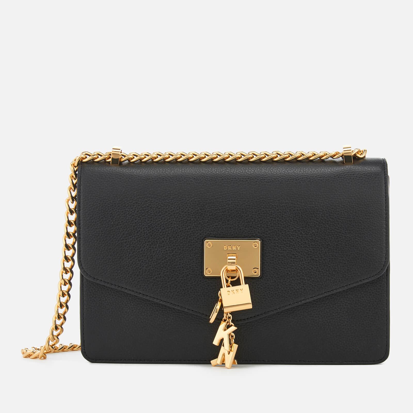 83862a29c DKNY Women's Elissa Large Shoulder Bag - Black - Free UK Delivery over £50
