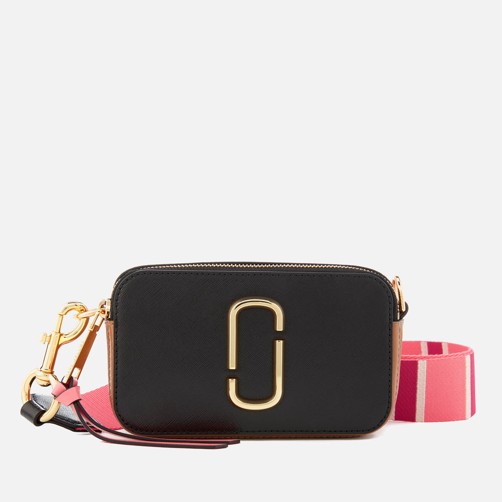 9c4edf12db16a Marc Jacobs Women s Snapshot Cross Body Bag - Black Gazelle - Free UK  Delivery over £50