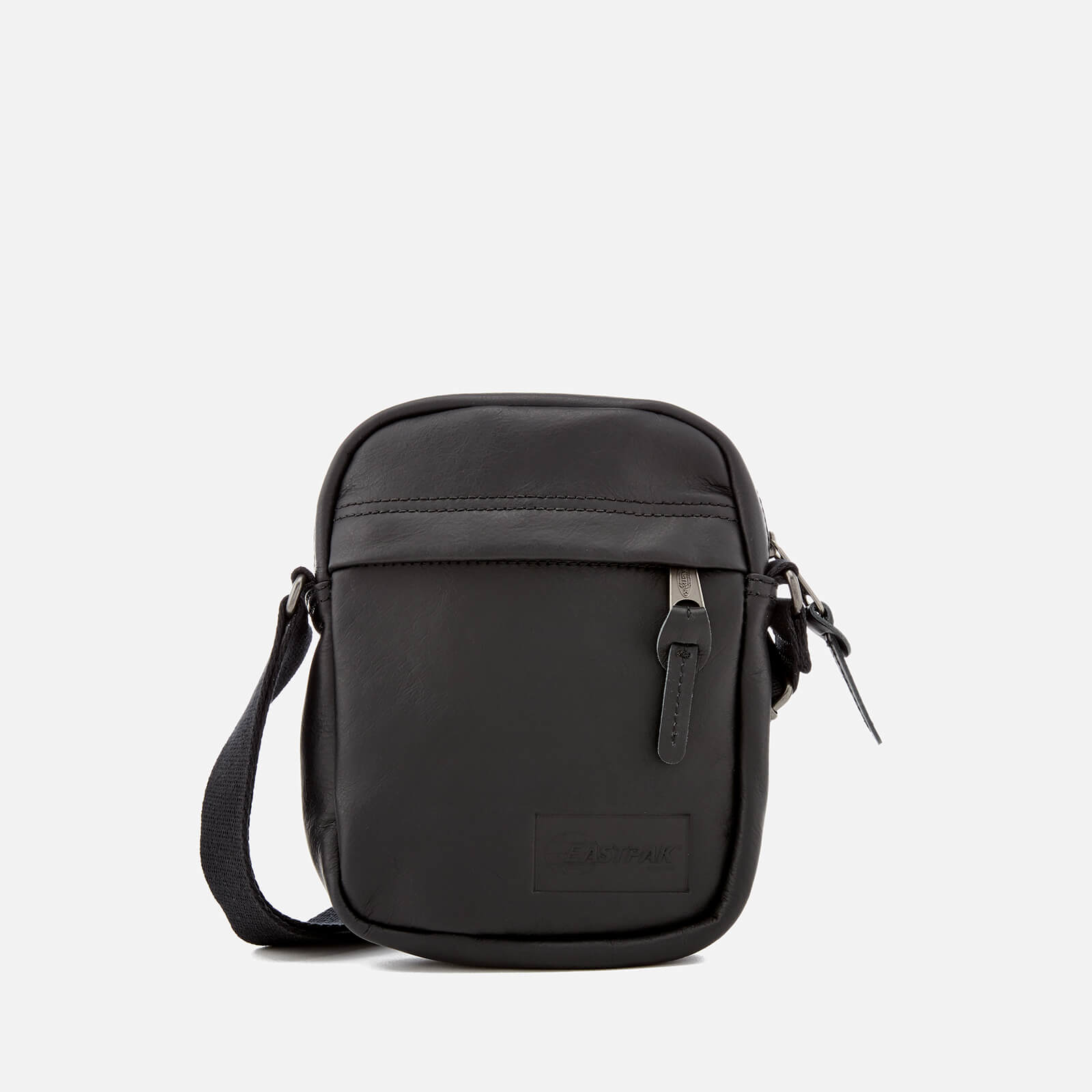 354a035b Eastpak Men's The One Leather Cross Body Bag - Black