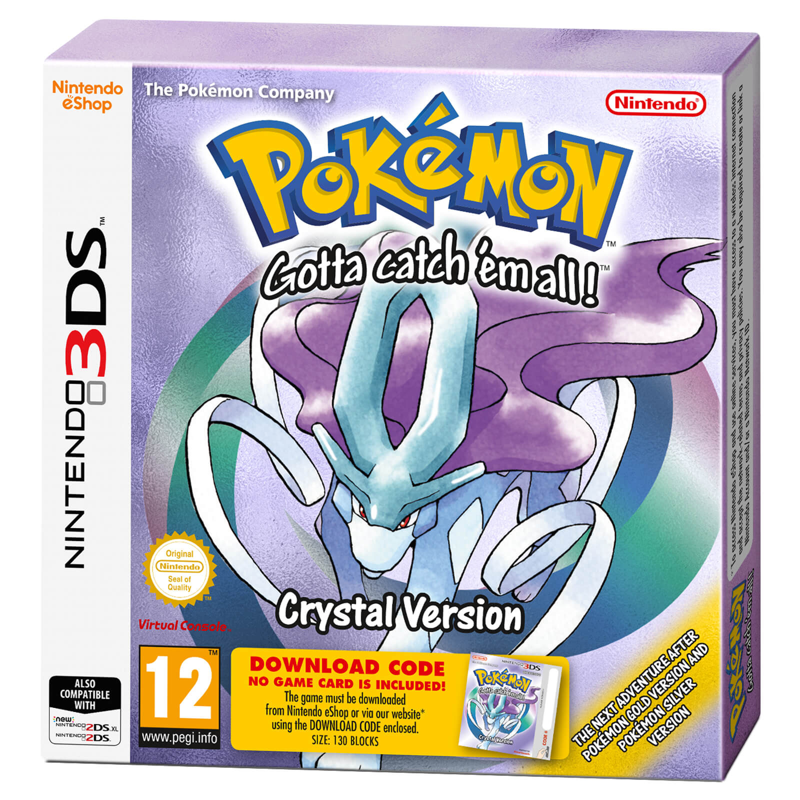 How to get celebi in your eshop copy of pokémon crystal.