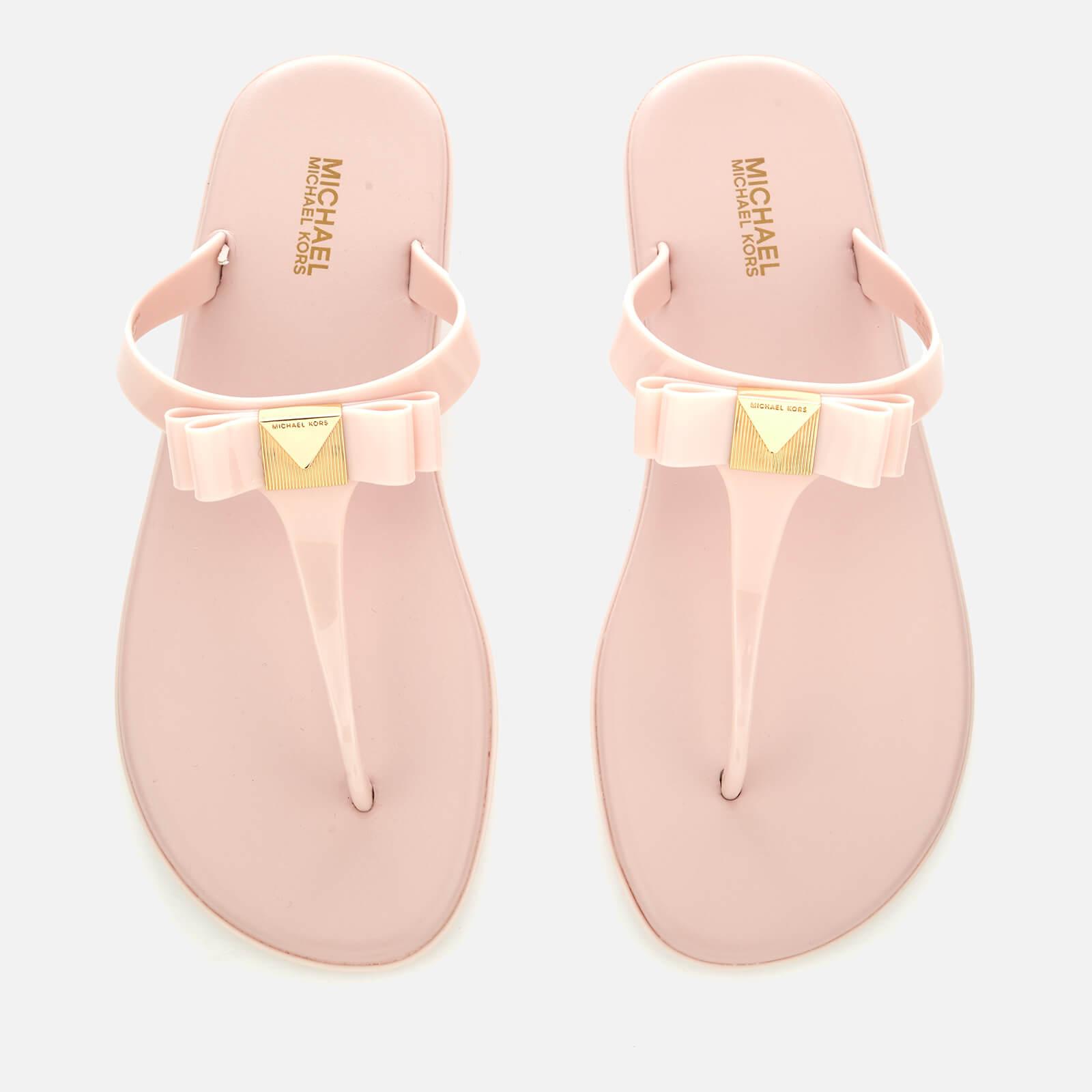 4d96b6adb MICHAEL MICHAEL KORS Women s Caroline Jelly Toe Post Sandals - Soft Pink  Womens Footwear