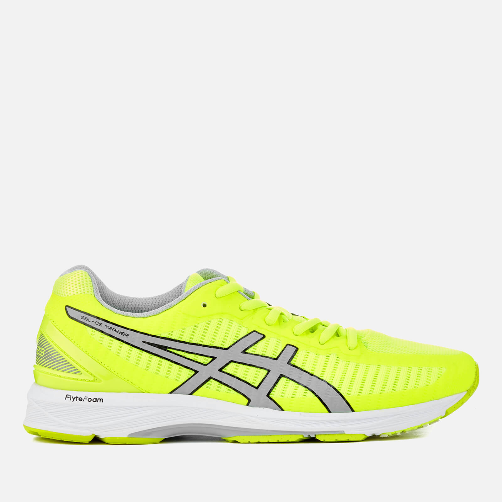c2bb95c8495dc Asics Men's Running Gel-DS Trainer 23 Trainers - Safety Yellow/Mid  Grey/White | ProBikeKit.com