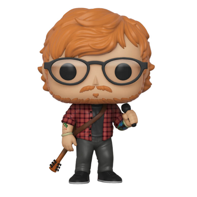 Figurine Pop Rocks Ed Sheeran My Geek Box