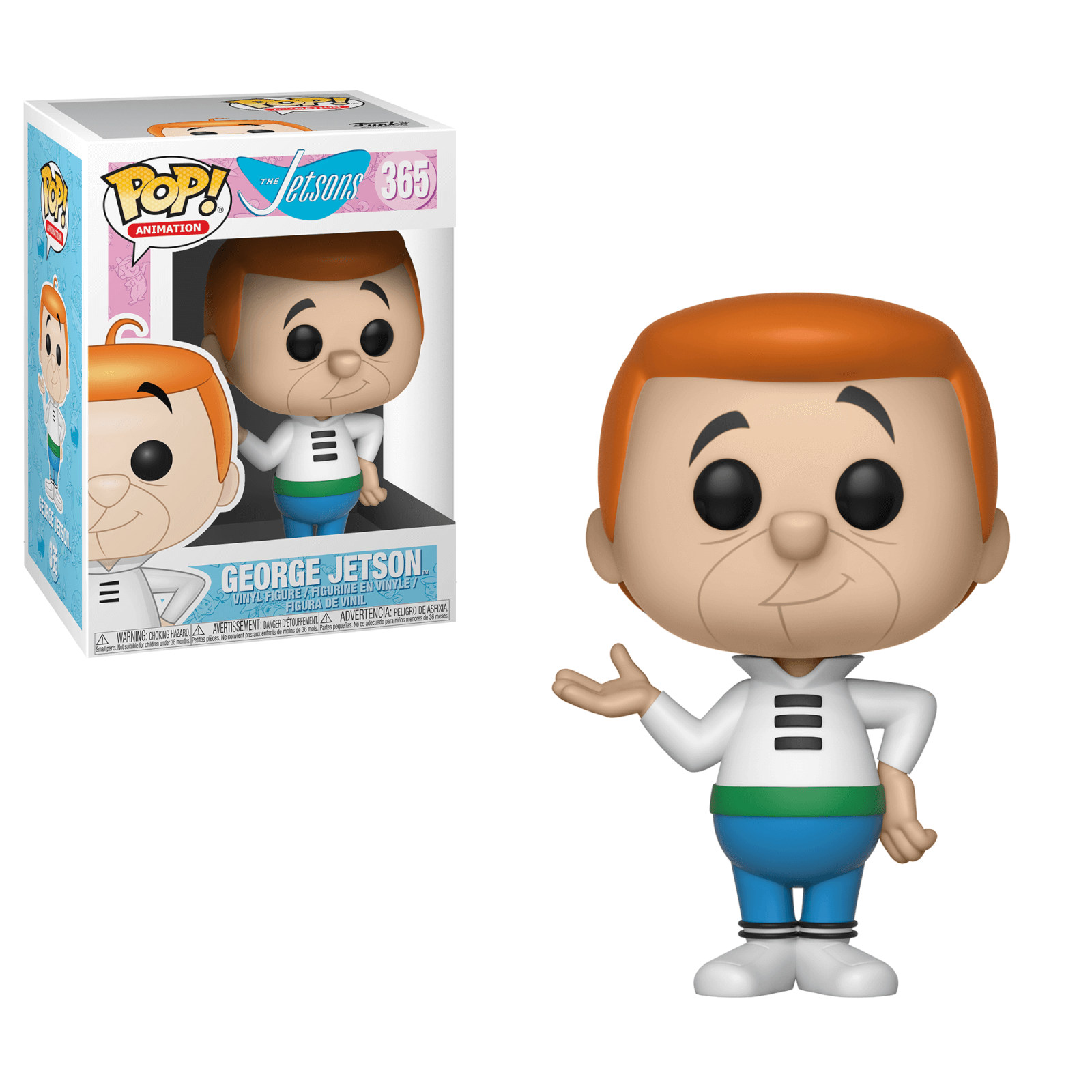The Jetsons George Pop! Vinyl Figure