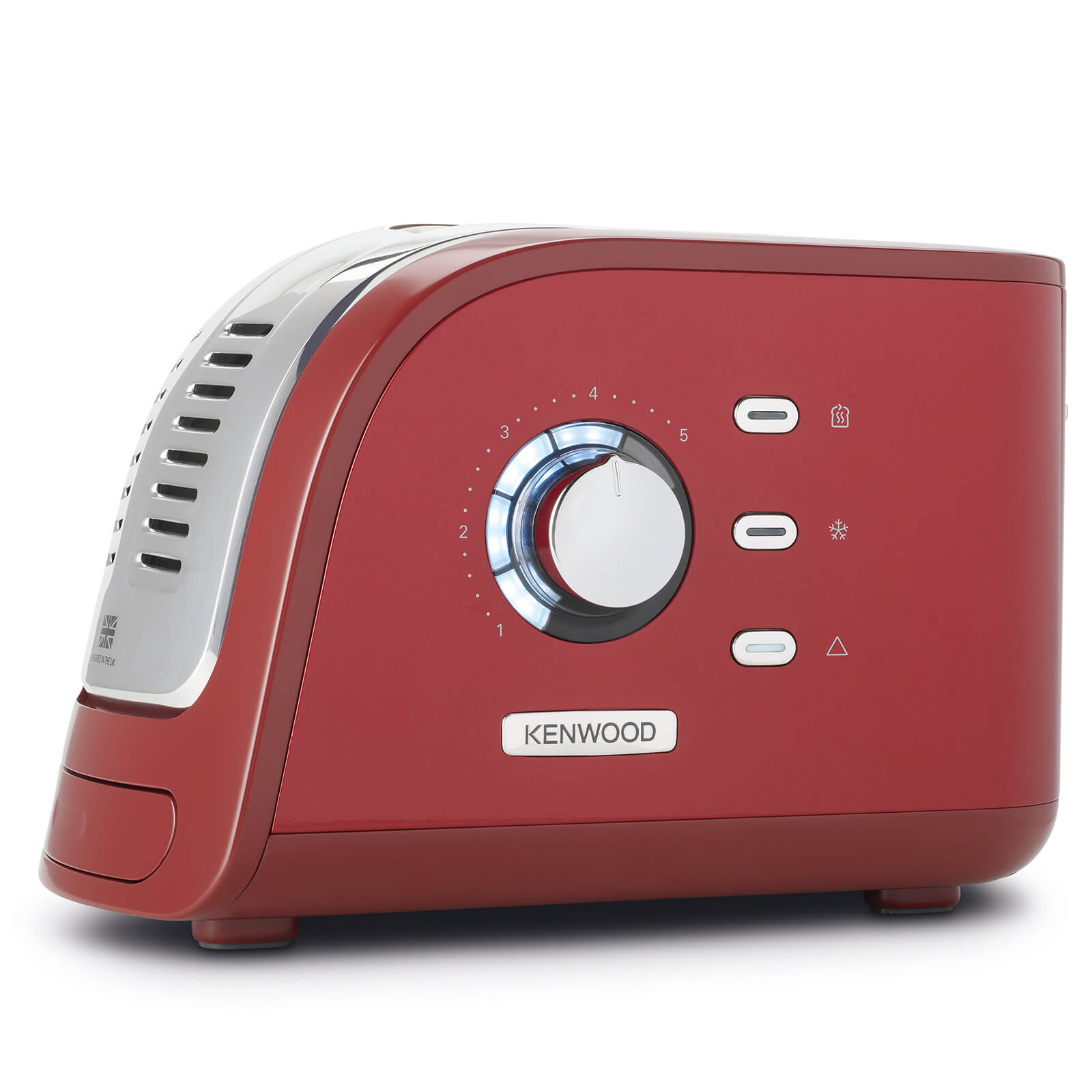 Kenwood TCM300RD Turbo 2 Slice Toaster - Red
