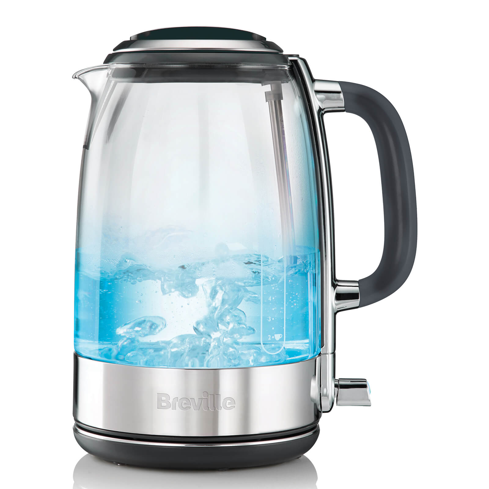 Breville VKT071 Crystal Clear Glass Illuminated 1.7L Kettle